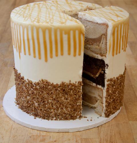 pumpecapple-piecake from Three Brothers Bakery